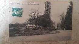 CPA LE VESINET - Avenue Du Grand-Veneur - Femme Sur Une Bicyclette - Le Vésinet