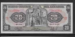 Equateur - 20 Sucres - Pick N°121A - NEUF - Equateur