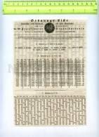 255276 GERMANY FRANKFURT City Lottery Loan Page 1854 Year - Lottery Tickets