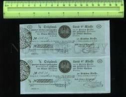 255277 GERMANY FRANKFURT City Lottery Loan Ticket 1854 Year - Lottery Tickets