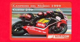Nuova - MNH - ITALIA - Scheda Telefonica - Telecom - Golden 1110 - Motor Show 1999 - Aprilia - OCR 22 - Italia