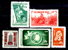 Cina-A-0298 - Emissione 1951-52 - - 1949 - ... People's Republic