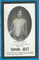 Bp    Jalet   Moxhe   Hannut - Images Religieuses