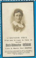 Bp    Grégoire   Courtois   Moxhe   Hannut - Devotion Images