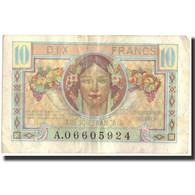 France, 10 Francs, 1947 French Treasury, 1947, 1947, TTB, Fayette:VF30.1, KM:M7a - Tesoro