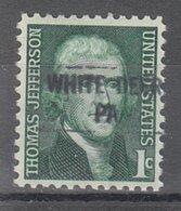 USA Precancel Vorausentwertung Preo, Locals Pennsylvania, White Deer 841 - Vereinigte Staaten