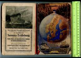 255641 NORTH TRAVEL GUIDE NORWAY SWEDEN RUSSIA BOOK 1914 Year - Books, Magazines, Comics