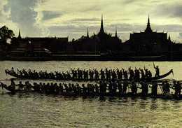 PHNOM PENH (Cambodge) Fete Des Eaux Course De Pirogues RV  Beau Timbre 7 Royaume Du Cambodge - Cambodia