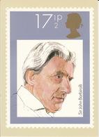 Sir John Barbirolli - (17,5p Stamp) - Music - British Conductors - 1980 - (U.K.) - Postzegels (afbeeldingen)