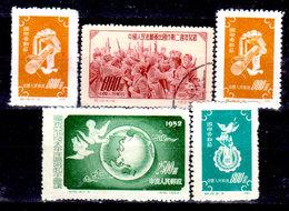 Cina-A-0299 - Emissione 1952 - - 1949 - ... People's Republic