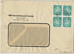 DDR - Beleg Aus Bitterfeld 1955 (569019) - [6] Democratic Republic