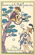 - Thèmes -ref-A815- Publicites - Publicite La Belle Jardiniere -les Bulles De Savon - Illustrateur Duché - Illustrateurs - Publicité
