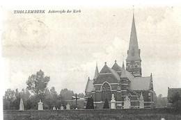 THOLLEMBEEK  Achterzijde Der Kerk - Galmaarden