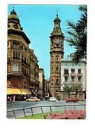Cpm - VALENCIA - Square De Zaragoza - Voitures - MEDICO DENTISTE - PHARMACIE OPTIQUE - Valencia
