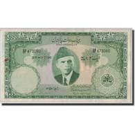 Billet, Pakistan, 100 Rupees, ND (1957), KM:18a, SUP - Pakistan