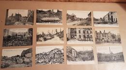 Grande Guerre - Lot De 95 Cartes Du Dpt 62 - PAS DE CALAIS (ARRAS CARENCY LENS NEUVILLE BLANGY VIMY CHAULNES ETC....) - Guerre 1914-18