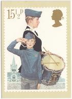 The Boys 'Brigade - (15,5p Stamp) - Youth Organisations - 1982 - (U.K.) - First Day Of Issue & Stamp - Postzegels (afbeeldingen)