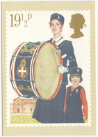 The Girls 'Brigade - (19,5p Stamp) - Youth Organisations - 1982 - (U.K.) - First Day Of Issue & Stamp - Postzegels (afbeeldingen)