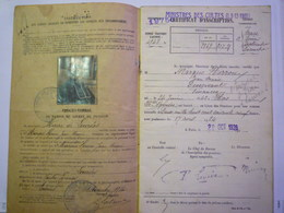 LOURDES HÔPITAL N-D  Des Douleurs :  LIVRET De PENSION De MARQUE HERROU J-M Curé Né à IBOS En 1842  XXX - Old Paper