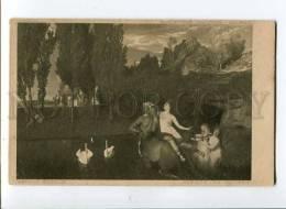 257085 Nymph MERMAID LEDA CENTAUR By BOCKLIN Vintage Bard PC - Illustrators & Photographers