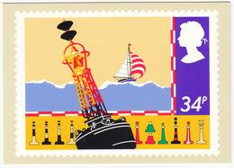 Buoy - (34p Stamp) - Safety On Sea - 1985 - (U.K.) - Postzegels (afbeeldingen)