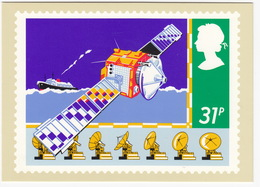 Satellite - (31p Stamp) - Safety On Sea - 1985 - (U.K.) - Postzegels (afbeeldingen)