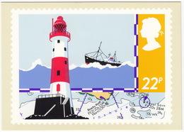 Lighthouse - (22p Stamp) - Safety On Sea - 1985 - (U.K.) - Postzegels (afbeeldingen)