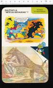 Fiche Disney Humour La Bête Du Gévaudan /  IM 01/D1-2 - Old Paper