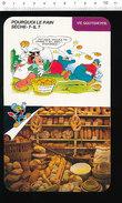 Fiche Disney Humour Métier Boulanger Boulangerie Boulange Différentes Formes De Pain  / IM 01/D-2 - Old Paper