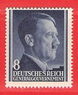 MiNr. 73 Xx Deutschland Besetzungsausgaben II. Weltkrieg Generalgouvernement - Bezetting 1938-45