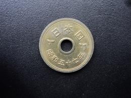 JAPON : 5 YEN An 57 * (1982)  Y 72a    SUP - Japan