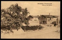 DONTRIEN - Frankreich - Une Partie De L'église -  Partie An Der Kirche - France
