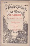 TRES RARE. LE STANSERHORN ET SON CHEMIN DE FER 12 Gravures, C.1880. HELVETICA, Train. - Livres, BD, Revues