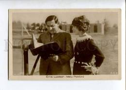 261667 LUBITSCH & PICKFORD Great FILM Actress Vintage PHOTO - Acteurs