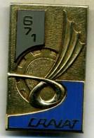 Insigne 671é CRALAT,compagnie De Repâration De L Aviation Legere De L Armée De Terre___drago - Armée De Terre