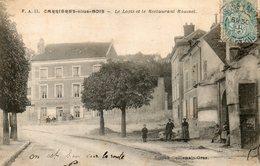 CPA - CARRIERES-sous-BOIS (78) - Aspect Du Logis Et Du Restaurant Rousset En 1904 - Autres Communes