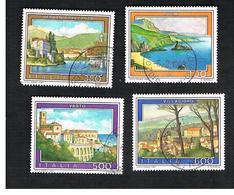 ITALIA REPUBBLICA  - UNIF. 1815.1818  -      1987    TURISTICA  -      USATO - 1946-.. Republiek