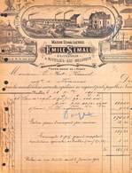 Maison Semal-Lacroix Nivelles, Meubles En Fer, En Pitch Pin (Illustrée, 1914) - Bélgica