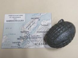 RARISSIME !!!  GRENADE TURQUE Mdl 1914 - 1914-18