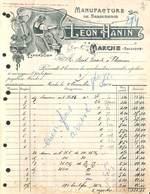 Manufacture De Serrurerie - Léon Hanin - Marche (Illustrée, 1914) - 1900 – 1949