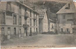 Hautes-alpes : ABRIES : Place Du Glacis ( Mauvais état Voir 2 Scans ) - France