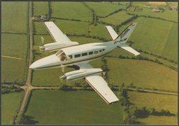 Iona National Airways Cessna 404 Titan Courier II - Irish Aviator Postcard - 1946-....: Modern Era