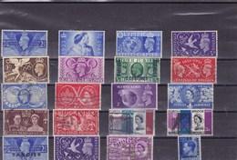 GRANDE BRETAGNE :  Y&T : Lot De 20 Timbres Oblitérés - 1840-1901 (Victoria)