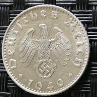 German Empire 50 Reichspfennig 1940 (B) - [ 4] 1933-1945 : Third Reich