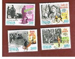 ITALIA REPUBBLICA  - UNIF. 1862.1865          -      1988    CINEMA ITALIANO   -      USATO - 1981-90: Usati