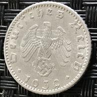 German Empire 50 Reichspfennig 1939 (A) - [ 4] 1933-1945 : Third Reich