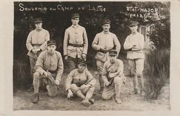 LASTIC - Souvenir Du Camp De ...... - Militaires ( 2 Carte-photos ) - France