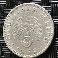 German Empire 50 Reichspfennig 1939 (E) - [ 4] 1933-1945 : Third Reich