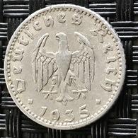 German Empire 50 Reichspfennig 1935 (A) - [ 4] 1933-1945 : Third Reich