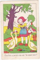 Chromo/ Image - Fanchon à Perdu Une Oie, La Voyez Vous? - Trade Cards